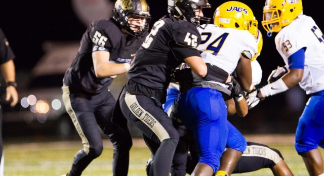 Golden Tigers Win Thriller over Region Rival Mae Jemison 21-20