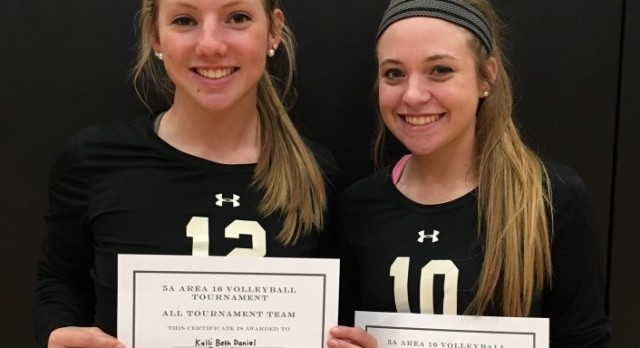 Golden Tiger Volleyball Season Comes to End at Area Tournament
