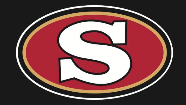 S Logo Black background