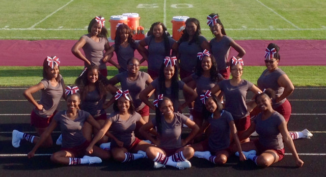 Meet Your 2017-18 Varsity Football Cheerleaders