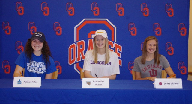 3 Student Athletes Commit on Fall Signing Day