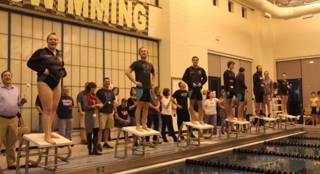 Swim Team: Senior Night Results