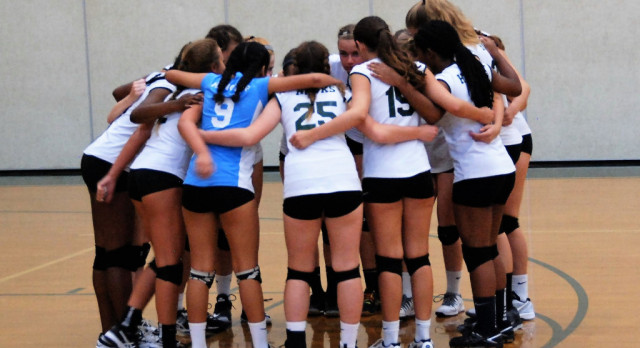 JV Girls Volleyball Photos