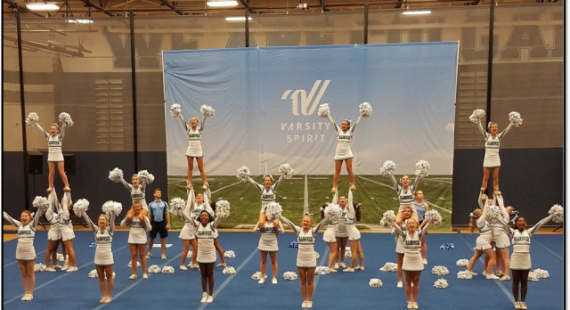 Cheer Team Wins, Advances to Nationals