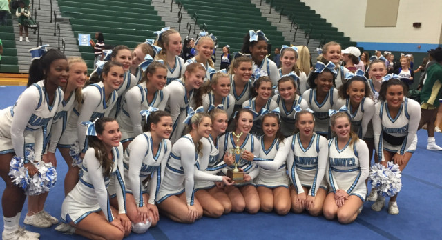 Hanover Wins District Cheer Competition
