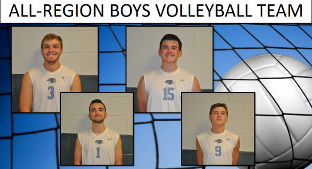 All-Region Boys Volleyball Team
