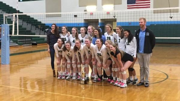 Regional Champion Hanover Girls Volleyball