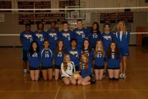 Coed Volleyball 2013