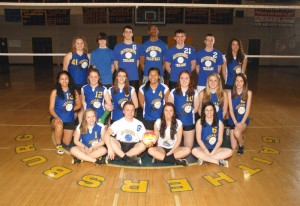 Coed Volleyball 2011