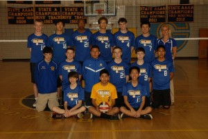 Boys Volleyball 2013