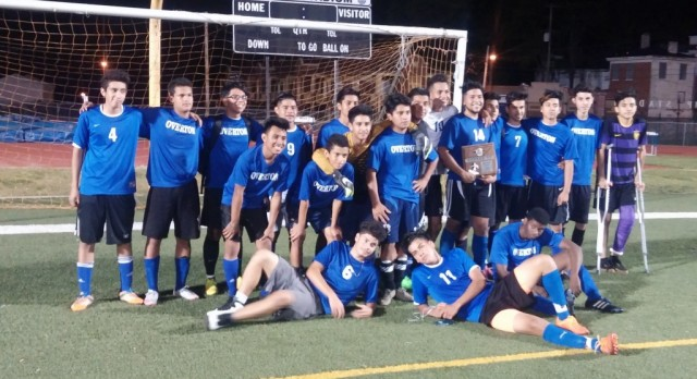Boys Soccer Takes District Runner-Up Honors
