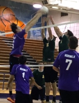 Norwalk High School Boys Varsity Volleyball beat Ontario Christian High School 3-0