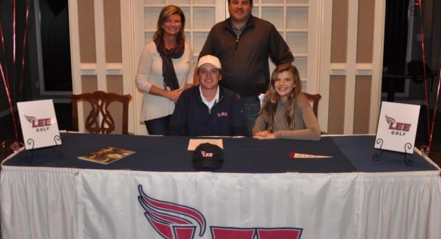 Davis Kirk Signs with Lee University!