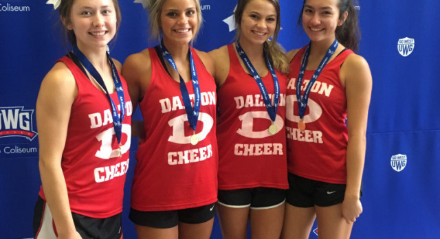 DHS Cheerleaders Choses for UCA All-American