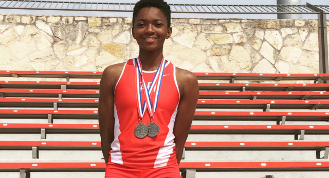 Neal Qualifies for State Track Meet