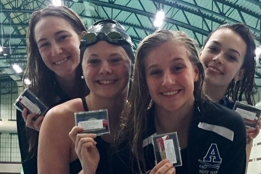 Swimmers Have Success in the Pool