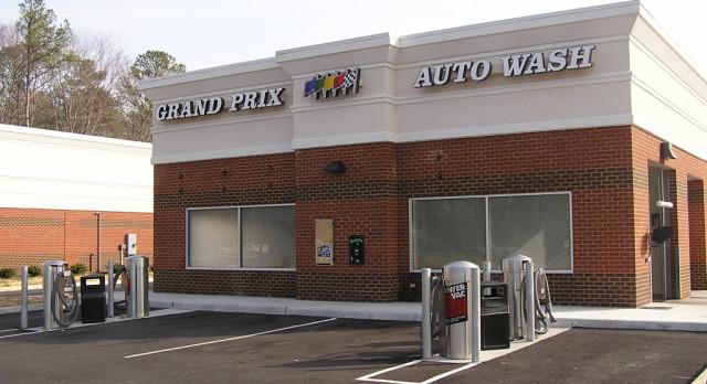 Grand Prix Auto Wash Booster Fundraiser
