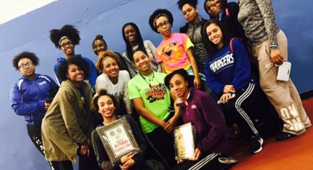 Girls Track Win SMAC Again!