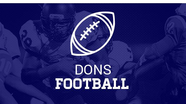 Dons Give Back During Bye Week