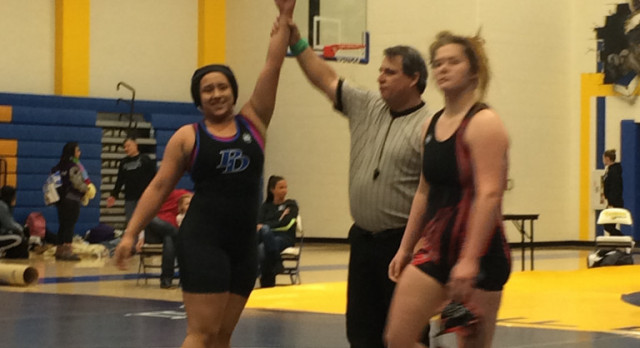 PD GIRLS WRESTLING TEAM BATTLES WITH TOP 5A/6A SCHOOLS!!