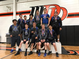 BOYS DISTRICT 3-5A WRESTLING RESULTS