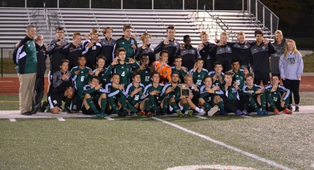 District Champions – Boys Soccer