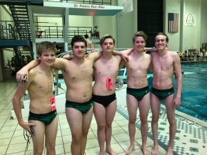 Boys Swim - State