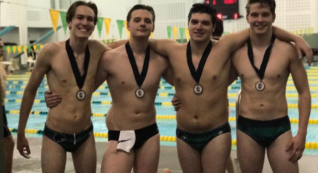 Boys Swim Team picks up Four Medals