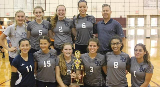 Freshman Volleyball wins St. Cloud Tournament