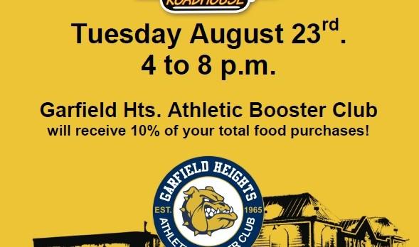 Support Bulldog Athletics at Texas Roadhouse 8/23