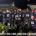 Bulldog Football Seniors 16-17