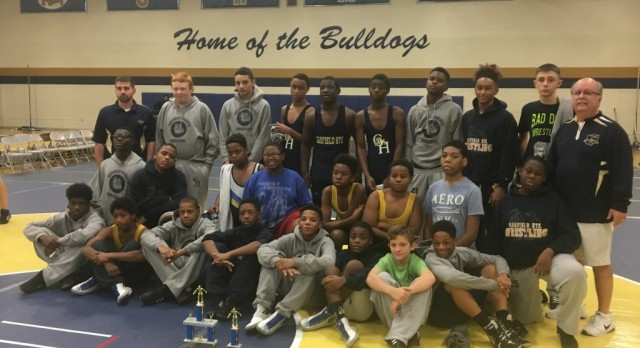 Bulldog Duals Middle School Wrestling Tournament