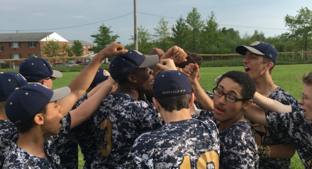 JV Baseball Team Beats Bedford to Finish Season
