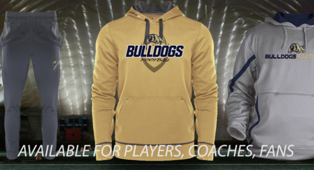 Bulldog Football Store is open
