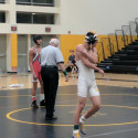 Wrestling at GFHS 1/18/17