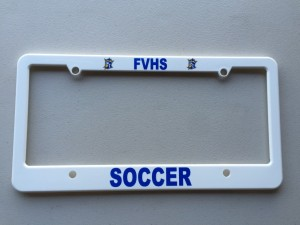lic plate frame