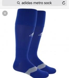 Adidas socks blue