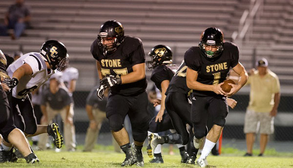 Stone Memorial High School fell to Kingston on Friday, September 22 with a score of 15-42