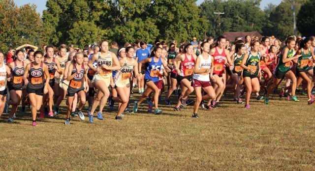 XC Competes at Cherokee Classic