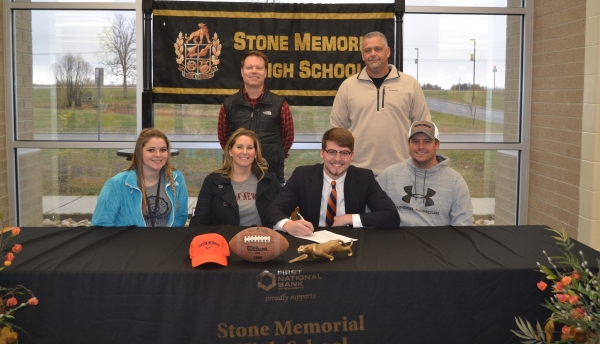 Curtis Tollett signed to Carson-Newman University