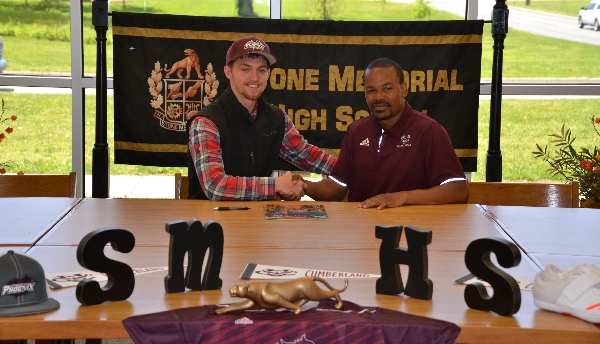 Dylon Dishman signs with Cumberland University
