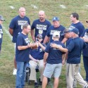 Football Team of 1986 recognized in Pre-Game Cermony