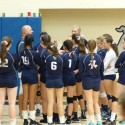 BC Girls Volleyball Beats McGuffey