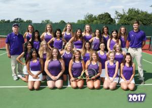 Girls Tennis 17-18