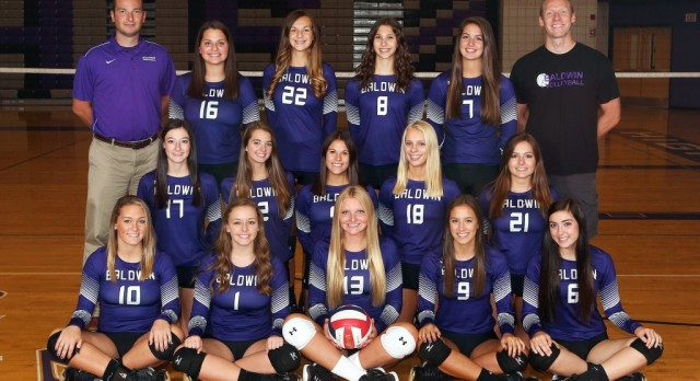 Baldwin High School Girls Varsity Volleyball beat Norwin High School 3-1