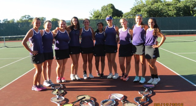 Baldwin High School Girls Varsity Tennis beat Keystone Oaks High School 5-0