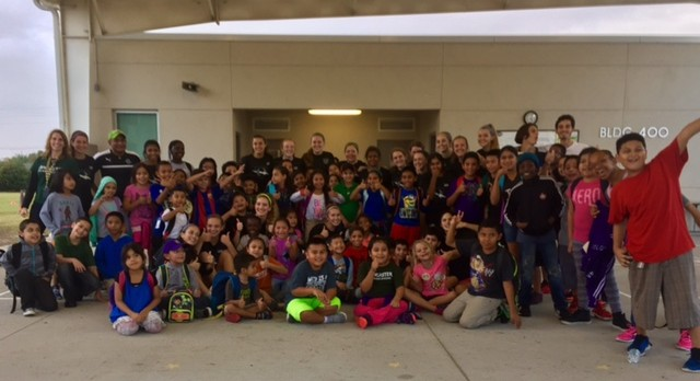 Girls Soccer Conducts Youth Clinic