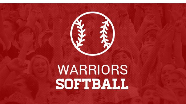 Warrior Softball defeat Beckman 10-1 to seal a first place finish.