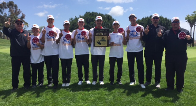 OC Varsity Article on CIF Champion Warrior Golf Team