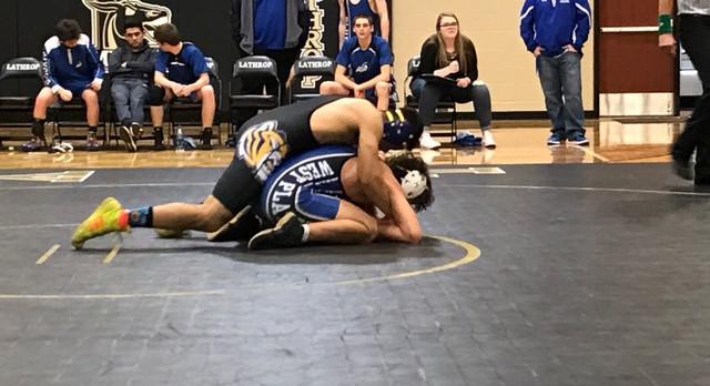 Lincoln Wrestling Falls 2 Points Short vs. West Platte